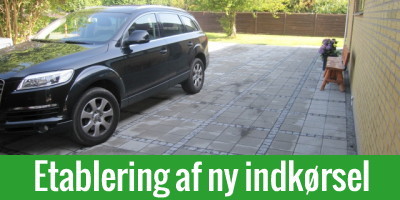 Ny indkørsel i Odense og på resten af Fyn